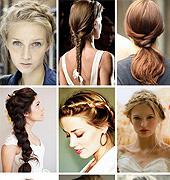 编织的婚礼发型