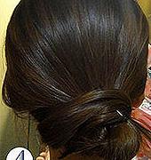 1分钟女人味盘发,带图详解