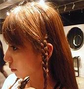 侧编辫子发型