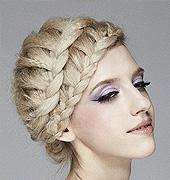 超级美丽的编发发型欣赏