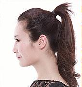 超简单的气质盘发