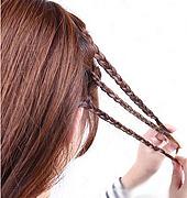 复古甜美发型教程