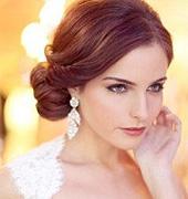 浪漫柔美的新娘发型