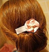 两款易学韩式花式盘发