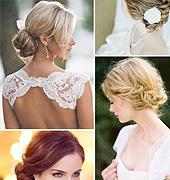 漫柔美的新娘发型