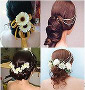 十二种新娘盘发你喜欢哪一种呢