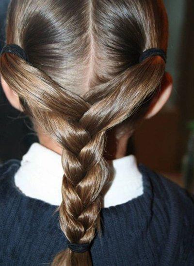 简单梳长头发方法 女童长头发怎么梳好看