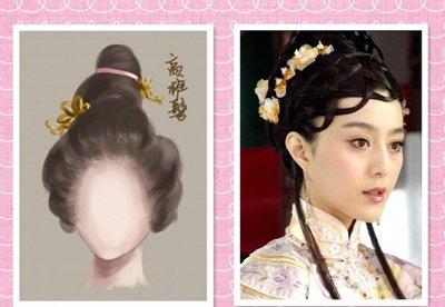 古代发型自己怎么梳的 简单的古代发型怎么梳图解