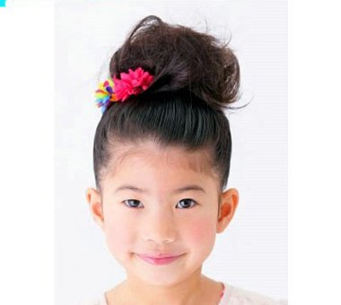 儿童梳头发型图片方法 教儿童梳头发型