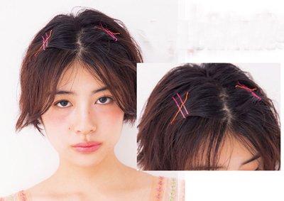 较短头发漂亮发型简单扎法步骤 短发型扎起来咋扎图片