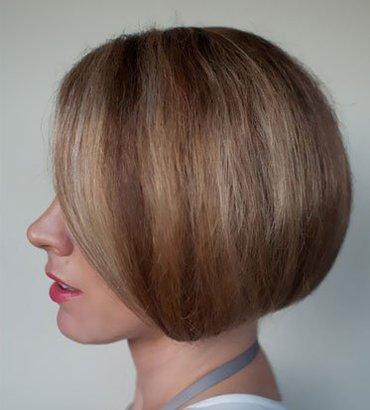 长发变短发发型教法 最新中短发发型