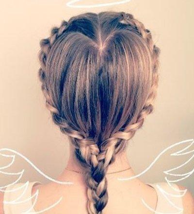 2017女童新年发型梳法 梳头发型儿童公主发型