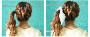 适合女学生梳马尾的发型 女生马尾发型绑扎方法