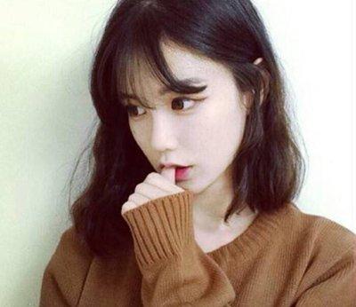 圆脸适合的发型图片韩式 又圆又长脸适合什么发型
