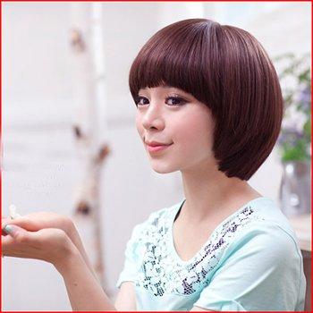 蘑菇头发型适合圆脸吗 脸圆的人适合什么发型