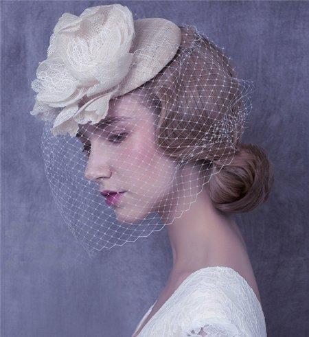 结婚发型适合脸大的图片 脸大的新娘适合哪种发型