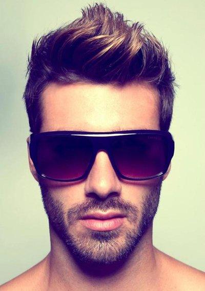 男的头发少剪的发型 男士做什么发型好看