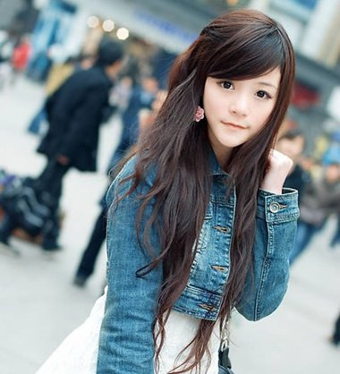 非主流素颜美女发型图片 非主流泼辣女生发型图片