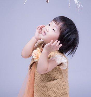 娃娃短发发型图片 小女孩最新盖头短发发型