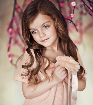 怎样给小孩子梳长头发 长头发的各种梳法