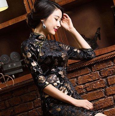 适合旗袍的简单发型 简单三十岁的发型