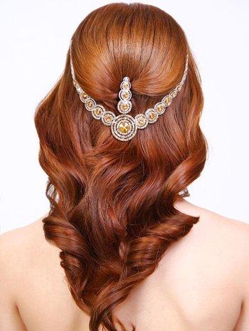 简单长发新娘发型步骤图解 新娘挽头发简单步骤
