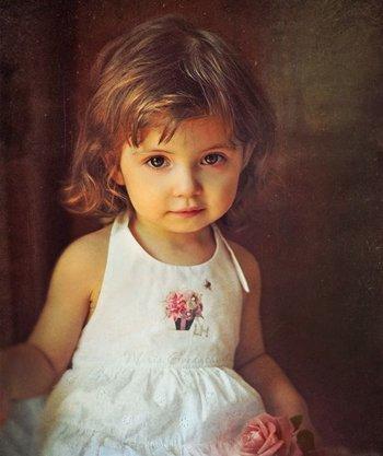 两岁女孩子头发怎么剪好看 小女孩头发怎么剪