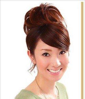 最简单日常盘发扎法步骤 中年妇女日常盘发