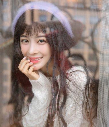 真・樱花系少女赵韩樱子发型 扎发爆萌