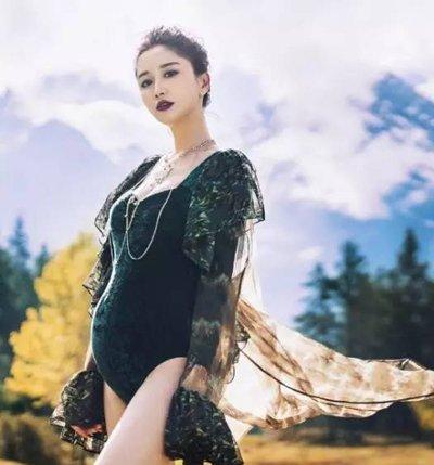 前方高能陈彦妃公布怀孕 90后女神陈彦妃魅力发型征服观众