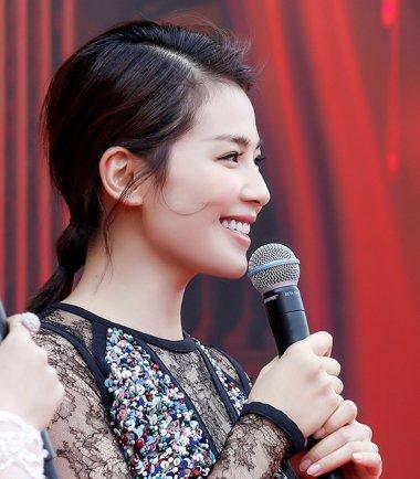 刘涛的齐肩发可以扎的这么潮 刘涛气质时尚扎发发型盘点