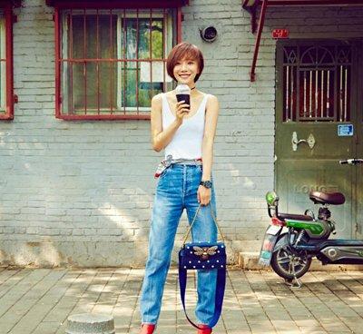 王珞丹短发演绎时尚帅 王珞丹示范率性时髦发型