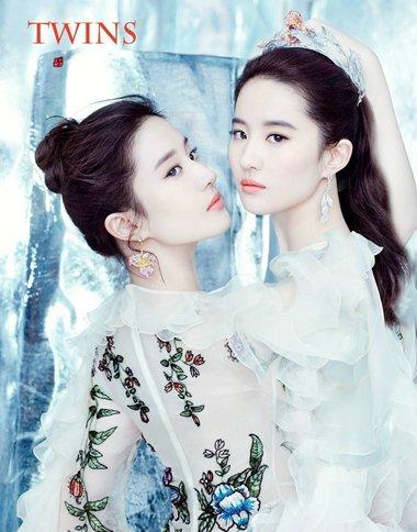 刘亦菲冰与雪大片发型 女王就要有女王的气场