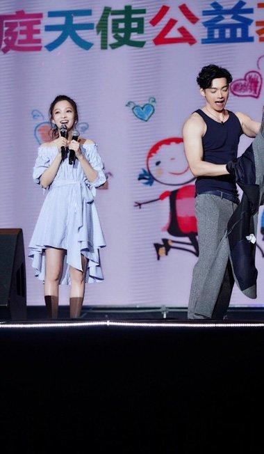 张韶涵现身南京出席活动 高马尾梳起原来这么好看