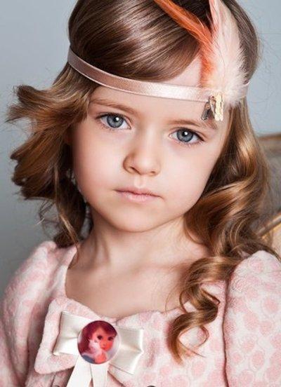 女童发型图片