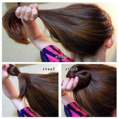 绑头发的方法图片_漂亮发型_简单漂亮的发型_非主流漂亮发型_漂亮发型图片_发型师姐