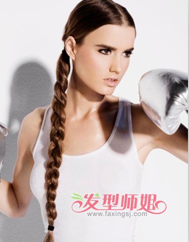 清爽干练发型激扬青春 活力健身系列发型精选