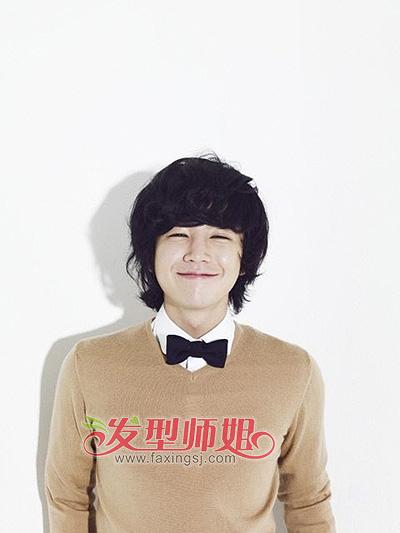 就是要暖男气质 男生日韩暖系发型