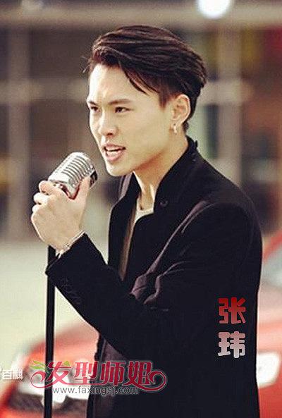 high歌_HIGH歌之王张玮发型 炫酷长发俊酷无比(3)_发型师姐