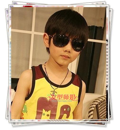 [瓜子脸剪什么发型]瓜子脸的小孩剪王俊凯的发型帅吗
