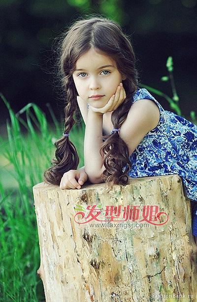 儿童辫子发型 儿童辫子的编发技巧
