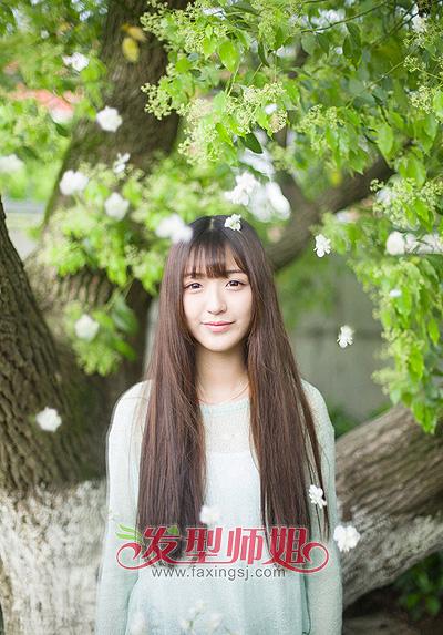 今年流行的日韩发型 日韩风格简单的发型图片