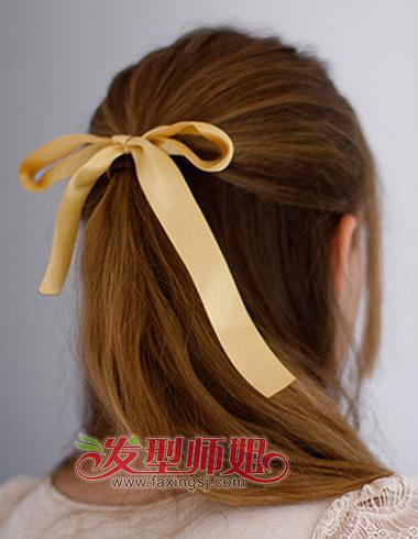 简单快速的伴娘头发整理步骤 三分钟伴娘发型教程