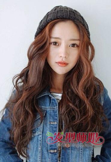 尖脸的女人适合什么发型 头尖脸大发量少适合发型