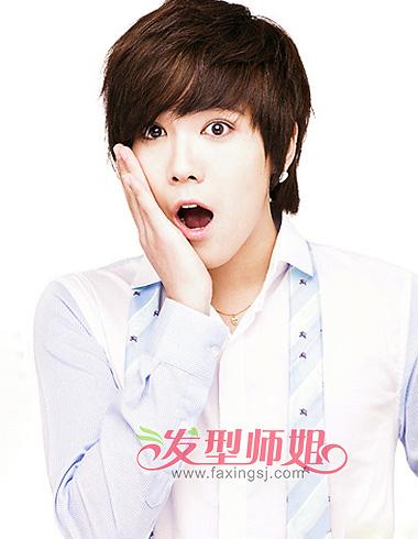 韩式男生发型 型男韩式发型图片