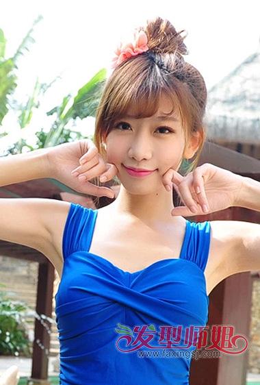 韩式道姑头的扎法图解 道姑头扎法步骤图解