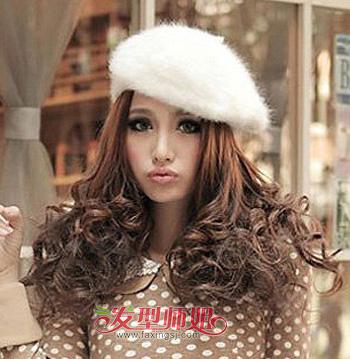 头大适合带什么帽子_大圆脸适合发型搭配 大圆脸冬天适合戴什么样的帽子(5)_发型师姐