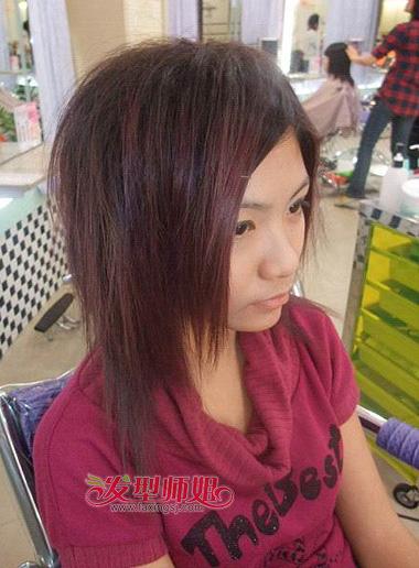 怎样用卷发棒卷头发_女生蓬松发根定位烫 女生发根定位烫效果图(4)_发型师姐
