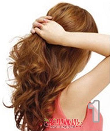 如何简单快速扎长头发 扎长头发头发的方法图解