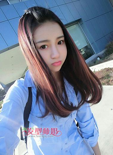 梨花头发型加空气刘海_2015年适合方脸型的女生发型 方脸适合发型女_发型师姐